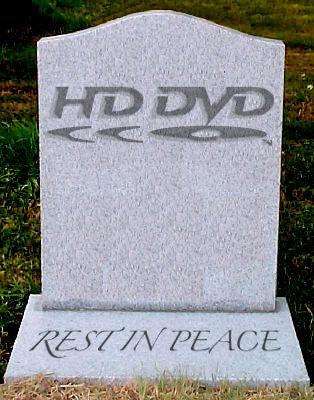 hd dvd dead