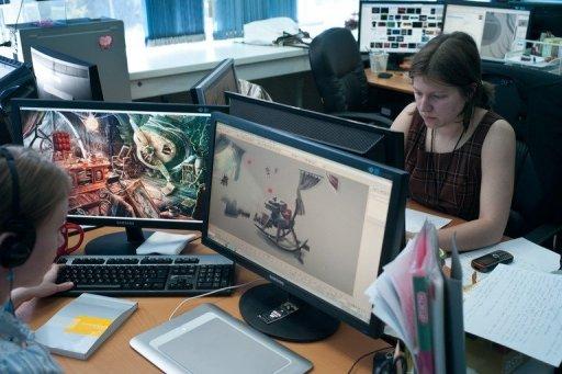 game designers at work